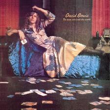 David Bowie Man Who The World 2015 Reissue 180g Vinyl LP Textured Sleeve