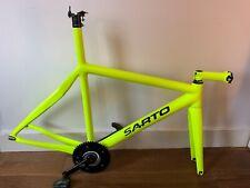 Sarto carbon track frame, forks & stem