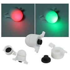 4 x LED Bissanzeiger Strike Alert Rute Aal Nachtangeln  elektronischer Bite W4X2