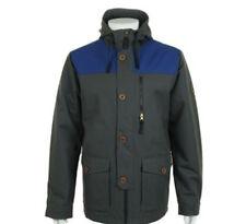 686 Parklan Flight Insulated Snowboard Jacket (L) Gunmetal Herringbone