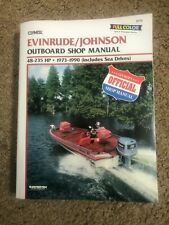 Clymer Evinrude Johnson Outboard Shop Manual 48-235 Hp 1973-1990