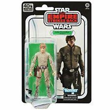 "Star Wars 40th Anniversary Empire Strikes Back Black 6"" Series Luke Bespin"