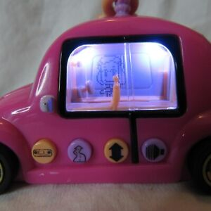 Pixel Chix Road Trippin' Purple Car 2005 Missing Battery Cover Tested Works