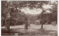 Hampshire; New Forest, The Rufus Stone RP PPC By Photochrom, Lyndhurst 1937 PMK