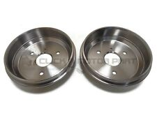 SMART CAR FOR TWO ROADSTER CITY COUPE CABRIO REAR 2 BRAKE DRUMS NEW SET