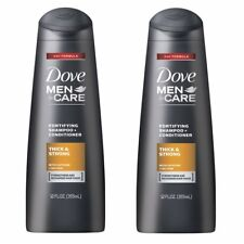 Dove Men Care 2 in 1 Shampoo and Conditioner Thick and Strong 12 Ounce