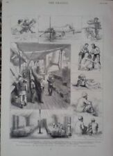 Antique (Pre-1900) Medium (up to 36in.) Military Art Prints