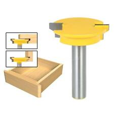 """1/2"""" Shank Drawer Front Joint Straight Rail & Stile Router Bit Cutter Tool K7S7"""
