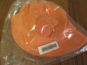 Supreme Stone Island Corduroy Crusher Bucket Hat Size S/M Orange FW20 New DS