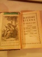 LIBRO: MASSIME ETERNE S.ALFONSO M.DE'LIQUORI 1941