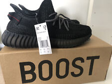 Adidas Yeezy Boost UK 8.5 350 v2 Noir Réfléchissant