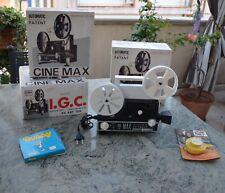 Proiettore di pellicole 8 + Super 8 CINE MAX K6 vintage modernariato CON BOX !