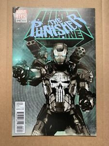 Punisher #218 2nd Print 1st Punisher As War Machine VF/NM-  See pics Of Top Left