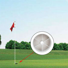 Golf Hole Pole Cup Flag Stick Backyard Putting Training Green Cave Cup Practice