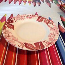 "Emma Bridgewater Pink Vine 8.5"" Plate New Rerun"