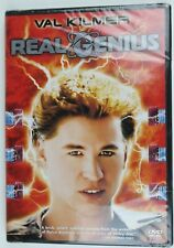 Real Genius (DVD, 2007) Val Kilmer RARE OOP 1985 New & Sealed!