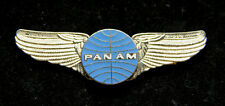 PAN AM WING PILOT CREW GIFT COSTUME HAT LAPEL PIN UP FLYING BOAT AIRLINE GIFT