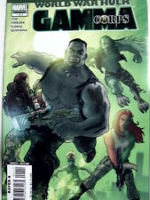 World War Hulk n°1 2007 : GAMMA CORPS  ed. Marvel Comics  [G.179]