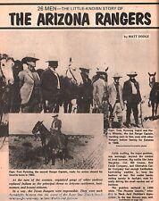Arizona Rangers 26 Men –Their Little Known Stor -Scarce & Unusually Hard To Find