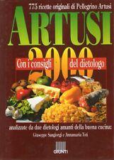 S15 Artusi 2000 Con i sconsigli del dietologo Giunti