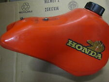1983 Honda CR 80 OEM Fuel tank with petcock and gas cap. Good Condition