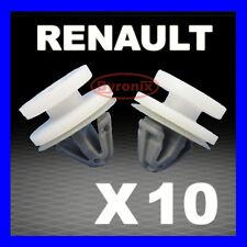 RENAULT TRAFIC DOOR CARD PANEL TRIM CLIPS INTERIOR MK2 TRAFFIC Grey