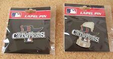 2 - 2013 World Series Champions Boston Red Sox lapel pins MLB WS champs pin p