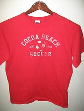 Cocoa Beach Florida USA High School Soccer Football Team Sport 2010 T Shirt Med