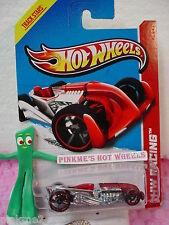 Case C 2013 i Hot Wheels Rat-Ified #146∞Red & Chrome∞Hw Racing ∞Track Stars