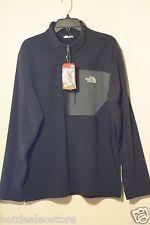 Men's The North Face - Tech 100 Half Zip Pullover Fleece in TNF Black CUA3KT0  L