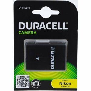 Duracell Akku für Nikon Typ EN-EL14a 1100mAh 7,4V 1100mAh/8,1Wh Li-Ion Schwarz