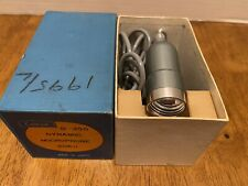 Vintage Calrad D-350 Dynamic Microphone 50k omh Mint in Box Brand New Old Stock