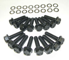 Ford Fairlane FE 390 - 428 Stock Exhaust Manifold Bolts Grade 8 Black Oxide  NEW