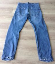 LEVI'S JEANS TWISTED / ENGINEERED RED TAB SIZE 34 X 34 HEM WEAR SEE DESCRIPTION