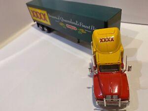 Linfox kenworth Diecast Truck XXXX Beers Trailer 1993 Model