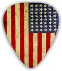 10 U.S. American Flag ~ Guitar Picks ~ Printed Both Sides
