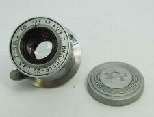 "Russian Elmar lens Red ""П"" INDUSTAR 22 3,5/50 camera FED Zorki 2 3 4 5 6 ""KAZAN"""