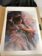 "Lee Bogle ""Heart's Desire & The Comforter ""  # 460/995 W/CERT Folder MINT  1995"