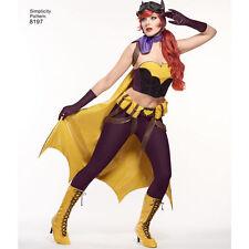 SIMPLICITY Pattern DC Comics Batgirl Costume Cosplay Sz 14- #0130  #8197