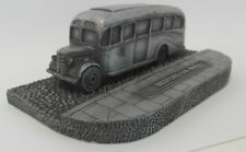 Static Pewter painted resin cast - ORDH0552 Bedford OB Bus