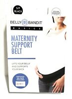 Belly Bandit - Maternity Support Belt Size Small Black Hot & Cold Pack Included