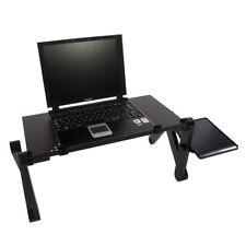 Portable Laptop Table Home Use Assembled Folding Computer Table 48 x 26cm Black