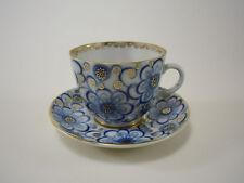 LOMONOSOV WINDEN kobaltblau Kaffeetasse Tasse Untertasse