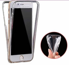 360° Front And Back Slim TPU Clear Gel Cover Case For iPhone 6 6S