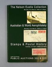 More details for australian & world aerophilately nelson eustis collection auction catalogue 2008