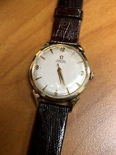 Omega Automatic cal. 500, 14K Gold 33 mm Case G6518 Vintage Wristwatch