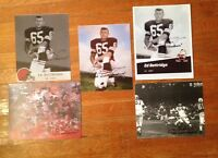 1964 Cleveland Browns Ed Bettridge Autograph Photo Lot PRO FOOTBALL