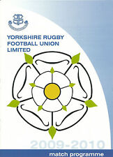 YORKSHIRE v EAST MIDLANDS RUGBY UNION COUNTY CHAMPIONSHIP  U20's 28 MAR 2010