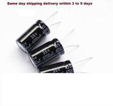 4700uf 35V Electrolytic Radial Capacitor 105 degrees 15PCS