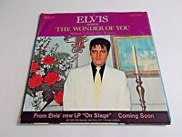 Elvis Presley The Wonder Of You / Mama Liked The Roses 45 Picture Vinyl Record